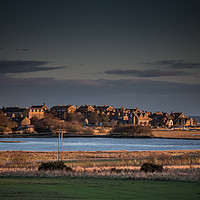 Buy canvas prints of Evening Light, Alnmouth, Northumberland by Richard Laidler