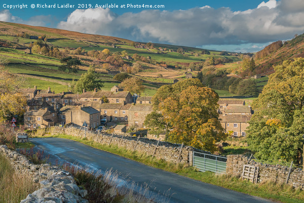 Thwaite, Swaledale, Yorkshire Dales Canvas Print by Richard Laidler