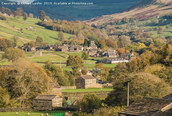 Muker, Swaledale, Yorkshire Dales Canvas Print by Richard Laidler