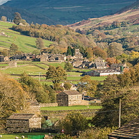 Buy canvas prints of Muker, Swaledale, Yorkshire Dales by Richard Laidler