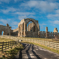 Buy canvas prints of Egglestone Abbey by Richard Laidler