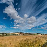 Buy canvas prints of Northumberland Big Sky by Richard Laidler