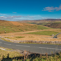 Buy canvas prints of Down into Swaledale by Richard Laidler