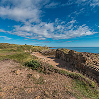 Buy canvas prints of Howick Haven, Northumberland Coast AONB by Richard Laidler