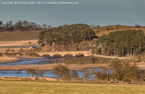 The Duchess Bridge, Alnmouth, Northumberland Canvas print by Richard Laidler