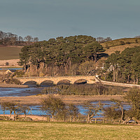 Buy canvas prints of The Duchess Bridge, Alnmouth, Northumberland by Richard Laidler
