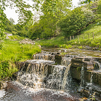 Buy canvas prints of Summer at Ettersgill Beck, Teesdale by Richard Laidler