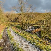 Buy canvas prints of Winter Sunshine on Ettersgill Beck by Richard Laidler