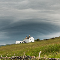 Buy canvas prints of Unusual Cloud Cover by Richard Laidler