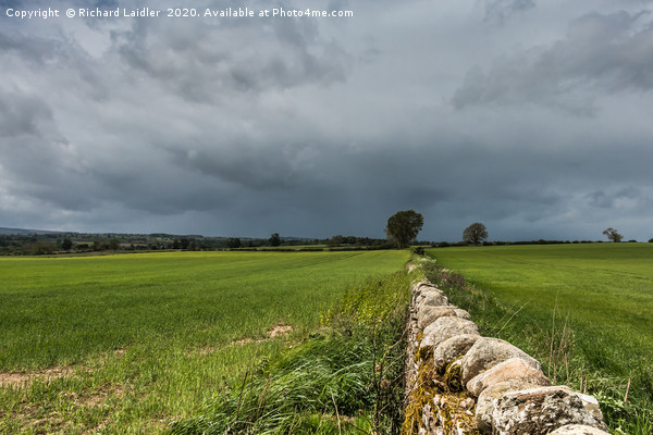 Wall to the Squall Canvas print by Richard Laidler