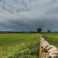 Buy canvas prints of Wall to the Squall by Richard Laidler