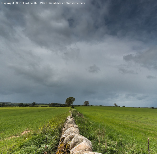 Wall to the Squall Panorama Canvas print by Richard Laidler