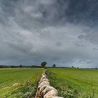 Buy canvas prints of Wall to the Squall Panorama by Richard Laidler