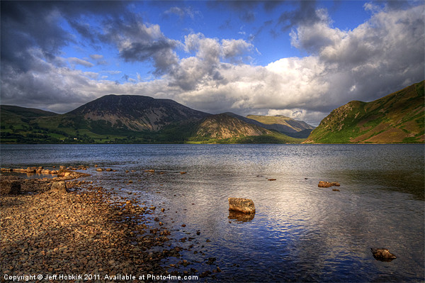 Ennerdale Water Canvas Print by Jeff Hobkirk