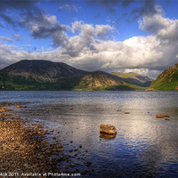 Buy canvas prints of Ennerdale Water by Jeff Hobkirk