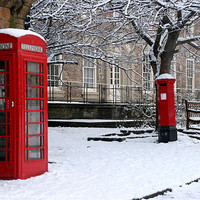 Buy canvas prints of Comminication In The Snow by Jeff Hobkirk