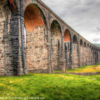 Buy canvas prints of Ribblehead Viaduct by Jeff Hobkirk