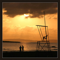 Buy canvas prints of Menorcan Sunset 2 by Jeff Hobkirk