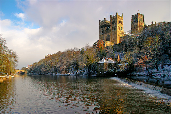 Durham Cathedral Canvas Print by Jeff Hobkirk