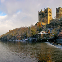 Buy canvas prints of Durham Cathedral by Jeff Hobkirk