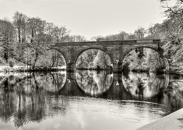 Prebends Bridge Canvas Print by Jeff Hobkirk