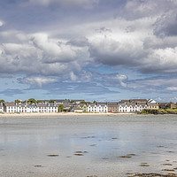 Buy canvas prints of Port Ellen on the isle of Islay by Jeff Hobkirk