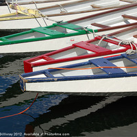 Buy canvas prints of Rowing Boats by Iain McGillivray