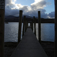 Buy canvas prints of Derwentwater by Iain McGillivray