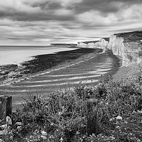 Buy canvas prints of Seven Sisters by mark Smith