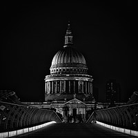 Buy canvas prints of St Paul's at Night by mark Smith