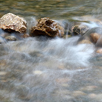 Buy canvas prints of spring with rocks nature scene by goce risteski