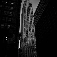 Buy canvas prints of  Skyscrapers of the city of New York during the summer. by Joaquin Corbalan