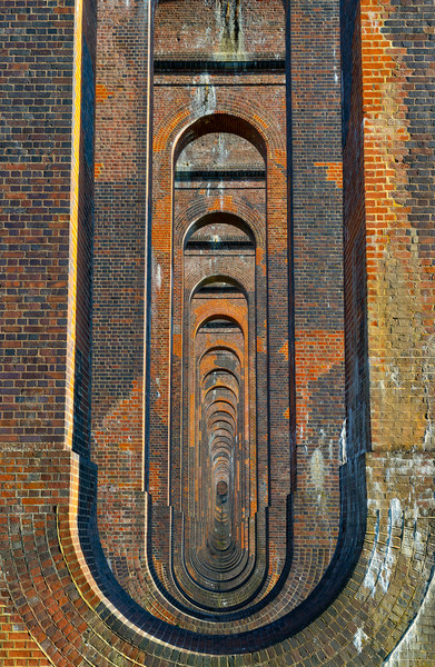 Underneath The Arches Framed Mounted Print by Nick Hunt