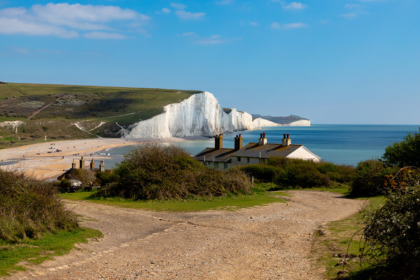 Sussex Cliffs  Framed Mounted Print by Nick Hunt