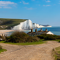 Buy canvas prints of Sussex Cliffs  by Nick Hunt