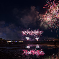 Buy canvas prints of World Firework Championships, Blackpool 2019 by Katie McGuinness