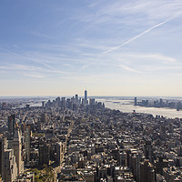 Buy canvas prints of Downtown New York City by Anthony Rosner