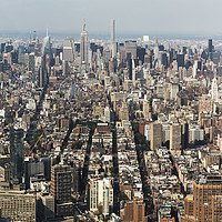 Buy canvas prints of Midtown Manhattan New York City by Anthony Rosner