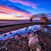 Buy canvas prints of The Bridge to nowhere by D.APHOTOGRAPHY
