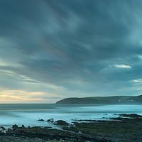 Buy canvas prints of Surreal Croyde Bay in North Devon by Tony Twyman