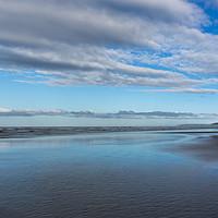 Buy canvas prints of A deserted Westward Ho beach  by Tony Twyman