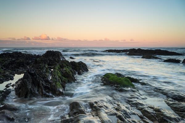 Rugged Croyde Bay sunrise Canvas Print by Tony Twyman