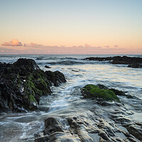 Buy canvas prints of Rugged Croyde Bay sunrise by Tony Twyman