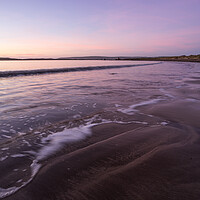 Buy canvas prints of Tranquil sunset waves by Tony Twyman