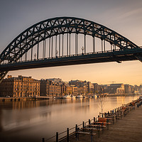 Buy canvas prints of Tyne Bridge Early Morning by Tyne Tees Photography