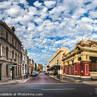 Buy canvas prints of Fremantle city center, Australia.  by RUBEN RAMOS
