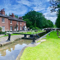 Buy canvas prints of Fradley Junction 2 by Tony Williams