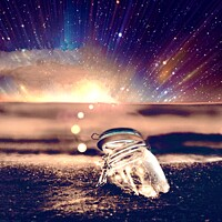 Buy canvas prints of Jar of wishes by Tony Williams. Photography
