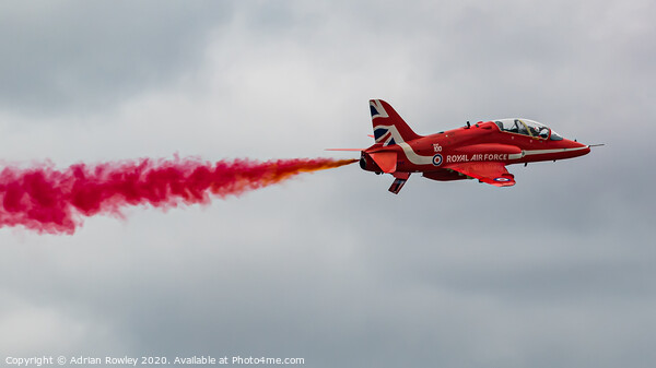 The Red Arrow Framed Print by Adrian Rowley