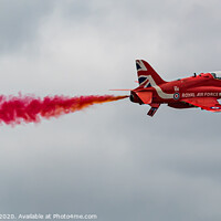 Buy canvas prints of The Red Arrow by Adrian Rowley